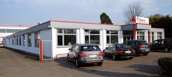 Firmensitz der Florin GmbH in Willich